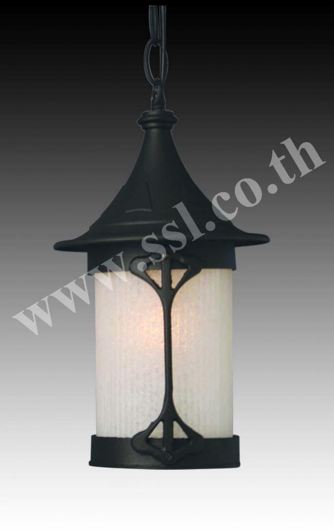 โคมไฟผนังนอกบ้าน SL-10-5077C-BK
