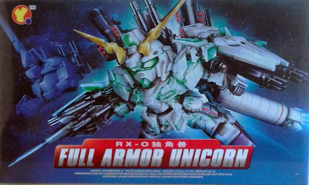 SD (390) Full Armor Unicorn Gundam