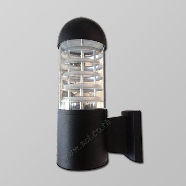 โคมไฟผนังนอกบ้าน SL-10-7425-BK