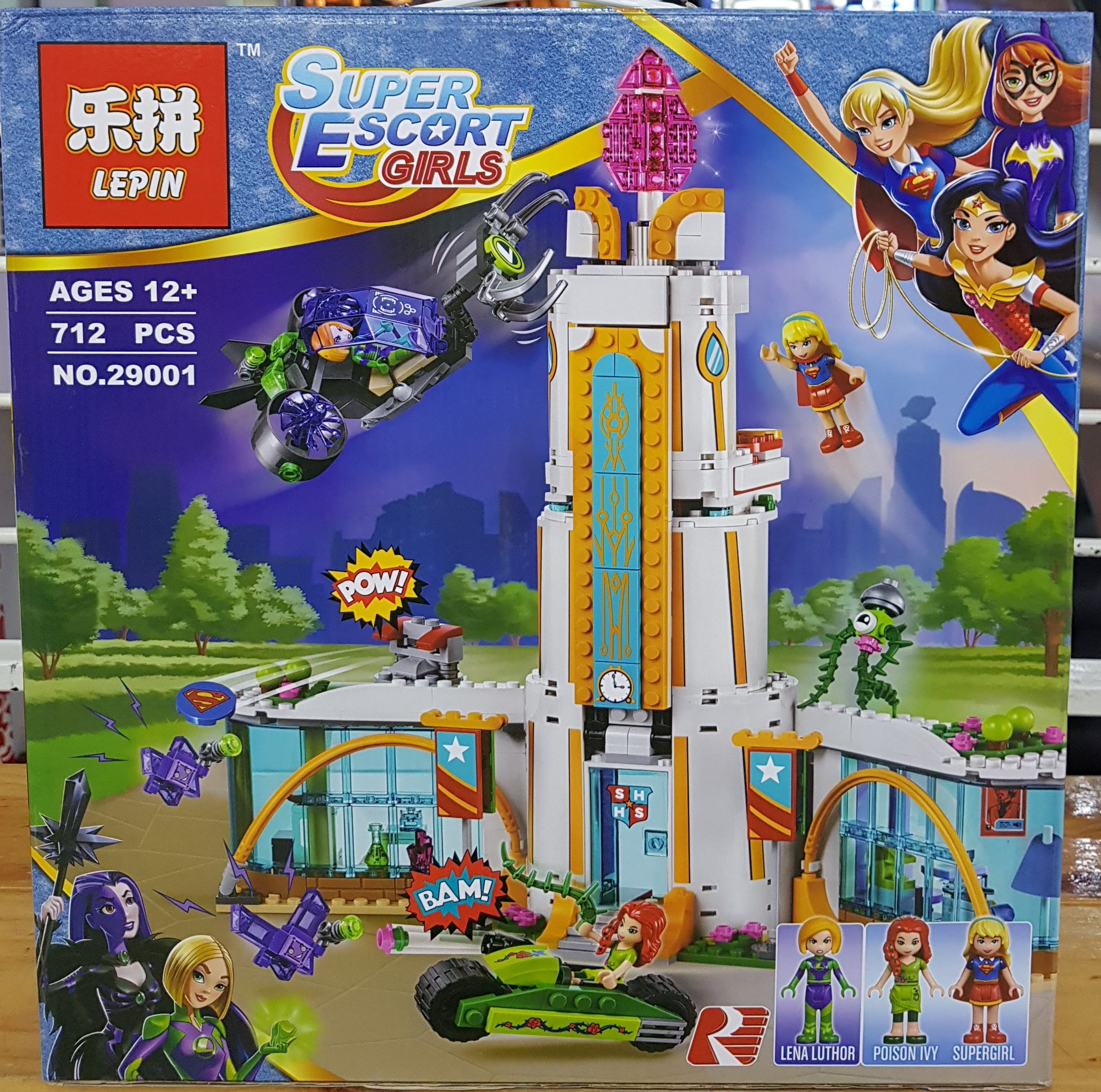 LEPIN SUPER ESCORT GIRLS 29001 (712ชิ้น)