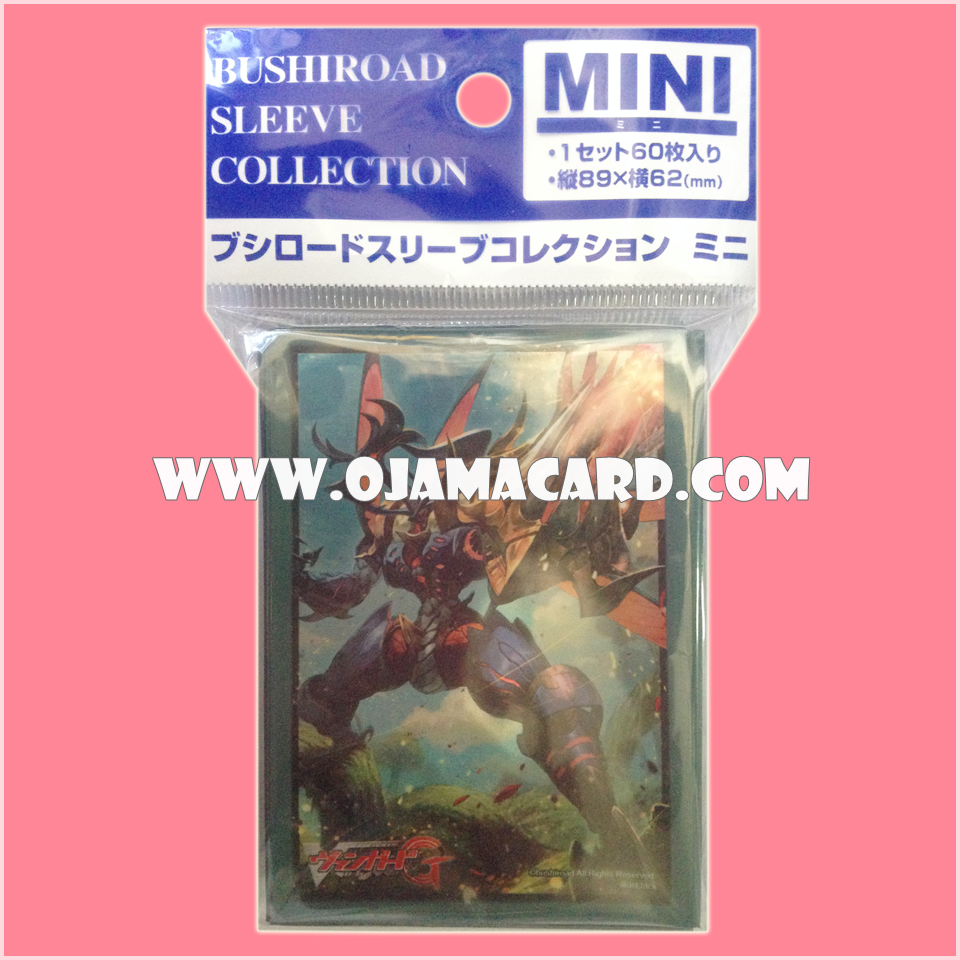 Bushiroad Sleeve Collection Mini Vol.176 : Raging Spear Mutant Deity, Stun Beetle x60