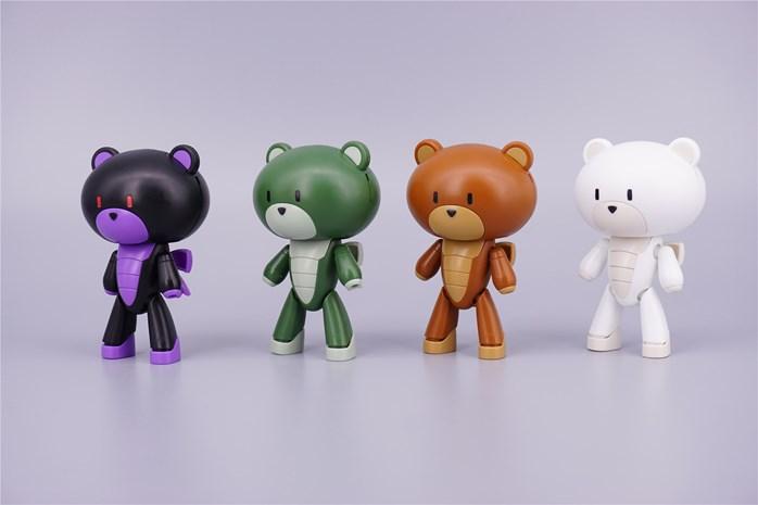 Bearmo Petit Bear set-B (4 ตัว)