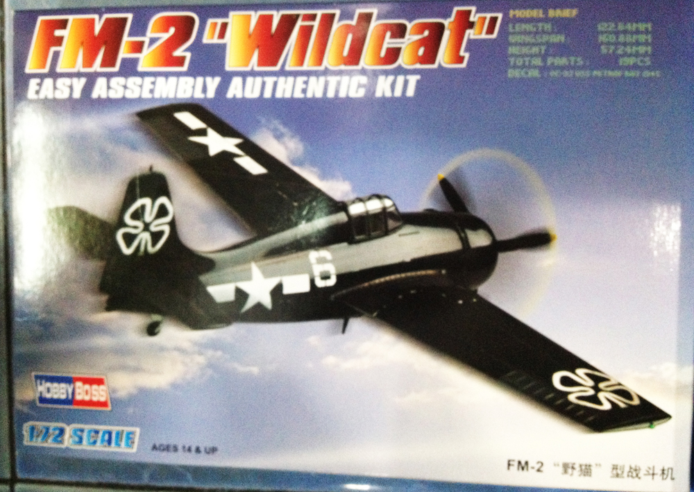 1/72 FM-2 Wildcat