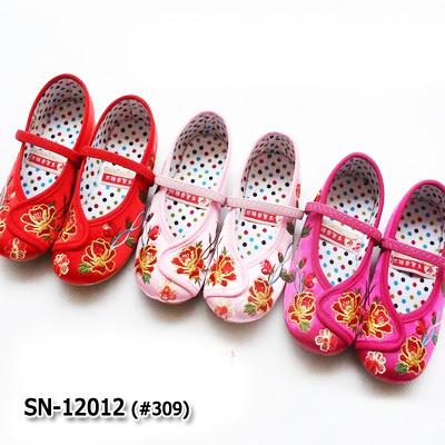 SN12012 รองเท้าจีน (ไซส์ 22-34)