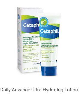 เติมน้ำให้ผิวแห้ง ให้กลับมาเนียนนุ่มชุ่มชื้นด้วย Cetaphil DailyAdvance Ultra Hydrating Lotion 85 G (FOR DRY TO VERY DRY SKIN) เติมน้ำให้ผิวแห้ง ให้กลับมาเนียนนุ่มชุ่มชื้นด้วย Cetaphil DailyAdvance Ultra Hydrating Lotion 85 G (FOR DRY TO VERY DRY SKIN)