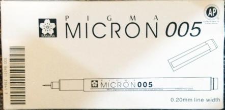 SAKURA Pigma Micron 0.05 mm