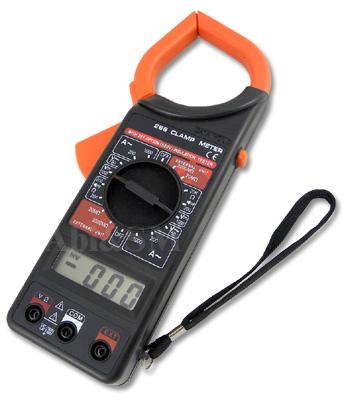 EM05 – เครื่องวัดกระแสไฟฟ้าและแรงดัน Digital Clamp Meter DT-266