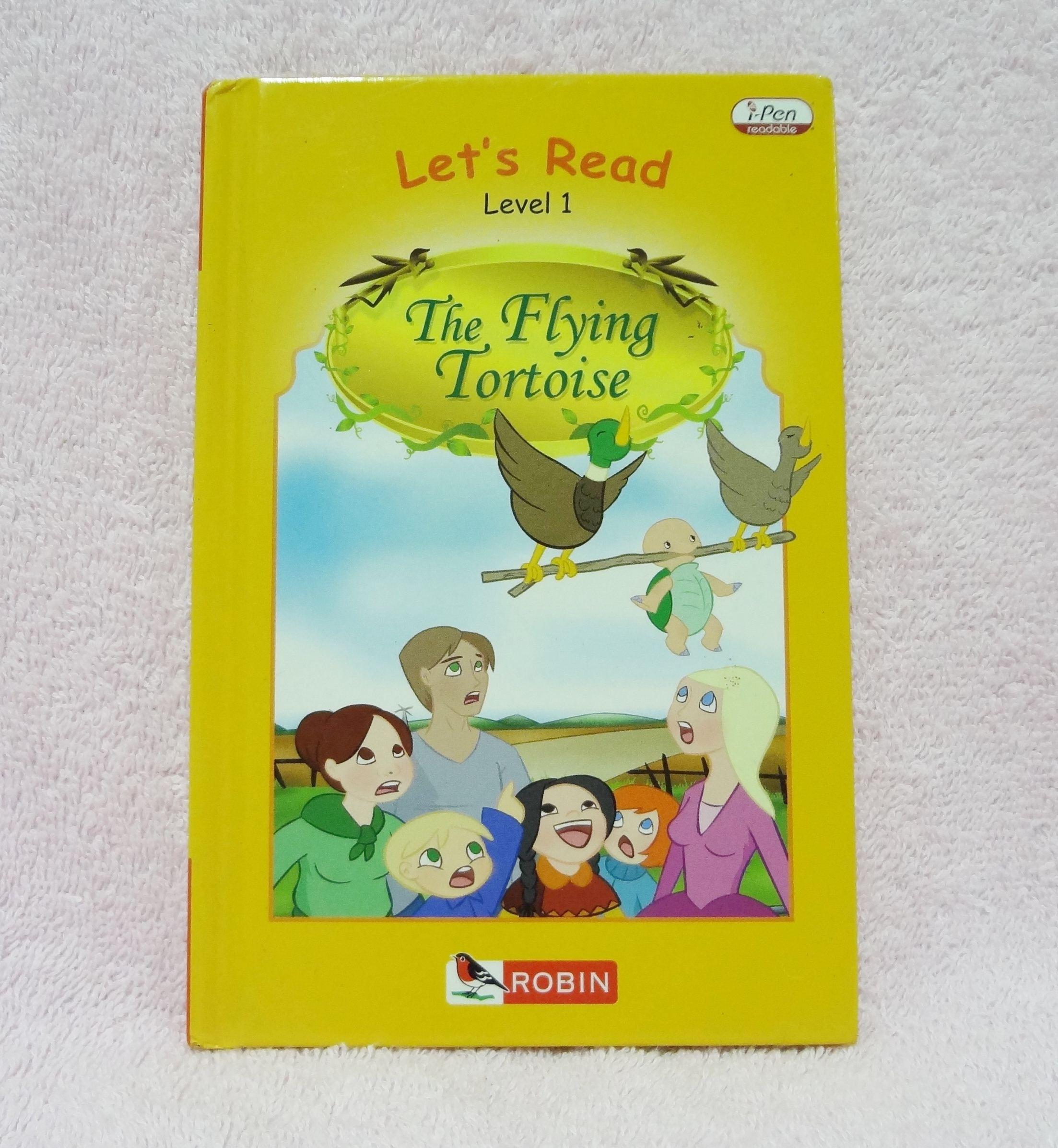 หนังสือนิทานเรื่อง The Flying Tortoise ของ Robin