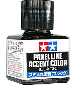 Panel Line Accent Color [Black]
