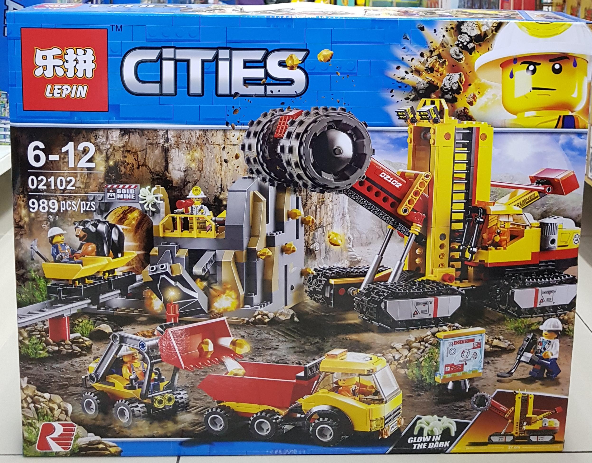 LEPIN CITIES 02102 [989ชิ้น]
