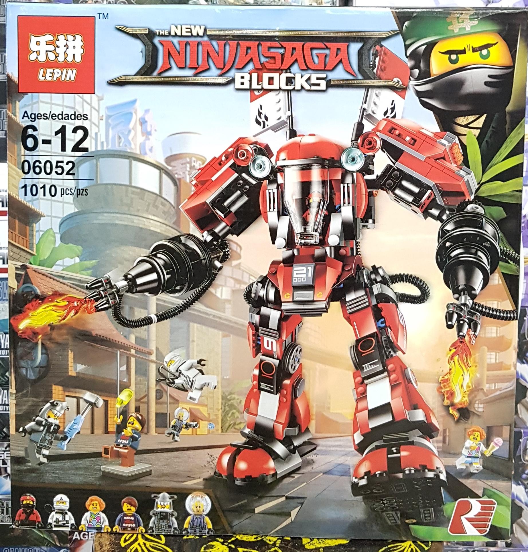 LEPIN THE NEW NINJASAGA BLOCKS 06052 [1010ชิ้น]