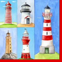 แนพกิ้น 33x33 lighthouse 1210-09045