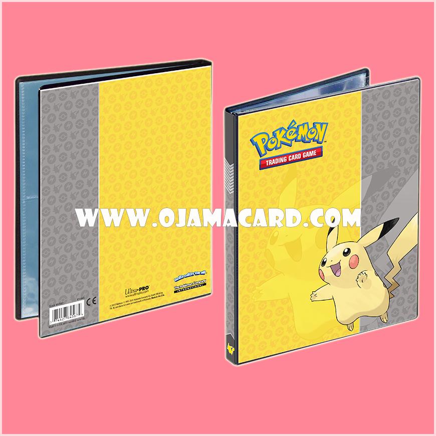 Ultra•Pro Pokémon Pikachu 4-Pocket Portfolio