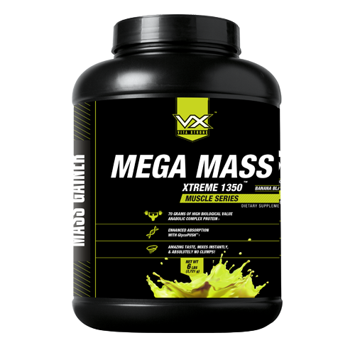 VITAXTRONG MEGA MASS XTREME 1350 ขนาด 6 ปอนด์ VITAXTRONG MEGA MASS XTREME 1350 ขนาด 6 ปอนด์