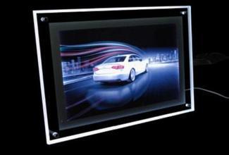 40x60cm กรอบรูปเรืองแสง LED ติดผนัง