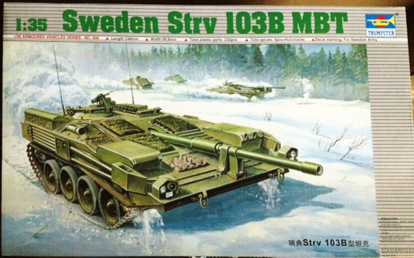 1/35 Sweden Strv 103B MBT