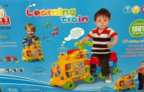 รถไฟขาไถ/ผลักเดิน มีกิจกรรมมากมาย