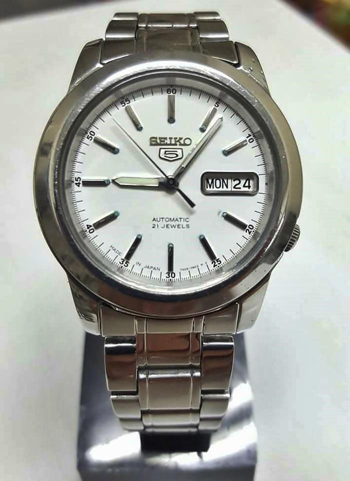 นาฬิกาข้อมือseiko 21jewels รหัส281059hw