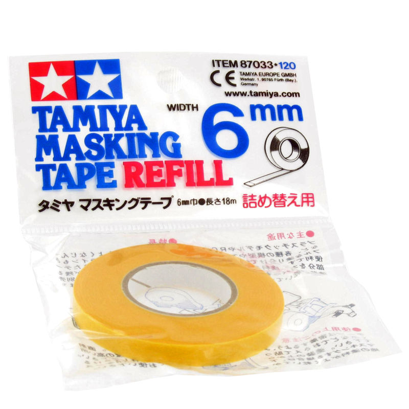 TAMIYA MASKING TAPE REFILL 6 MM