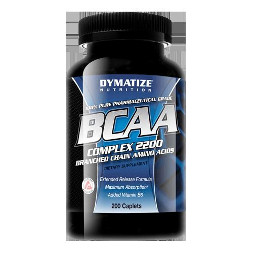 DYMATIZE NUTRITION BCAA COMPLEX 2200 200 CAPLETS
