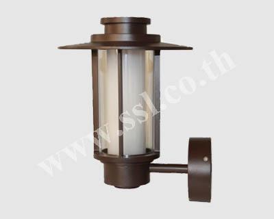 โคมไฟผนังนอกบ้าน SL-10-5081W-DB