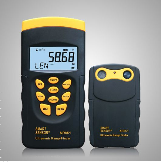 RF01-Distance Meter เครื่องวัดระยะ เครื่องวัดพื้นที่ ปริมาตร AR-851