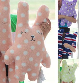 ตุ๊กตาตัวสั้น 4 แบบ ตุ๊กตากระต่าย,หมี