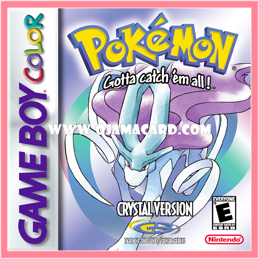 Pokémon Crystal Version for Nintendo Game Boy Color (US)