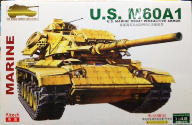 1/48 US M60A1 MARINE