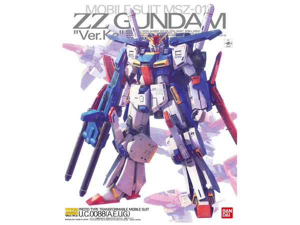 MSZ-010 ZZ Gundam Ver.Ka (MG)