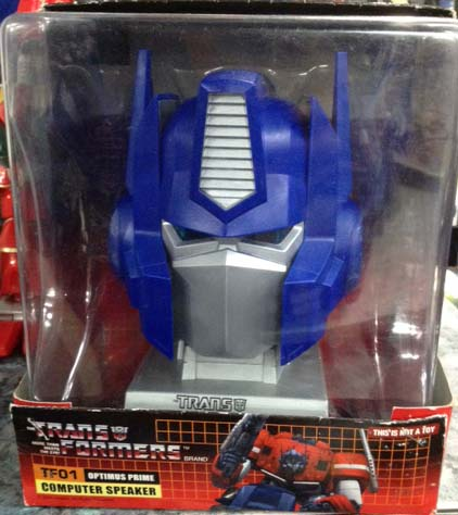 Optimus Prime Computer Speaker/ ลำโพงอเนกประสงค์ (สีน้ำเงิน)