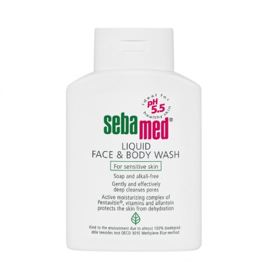 Sebamed Liquid Face&Body Wash 300 ml.