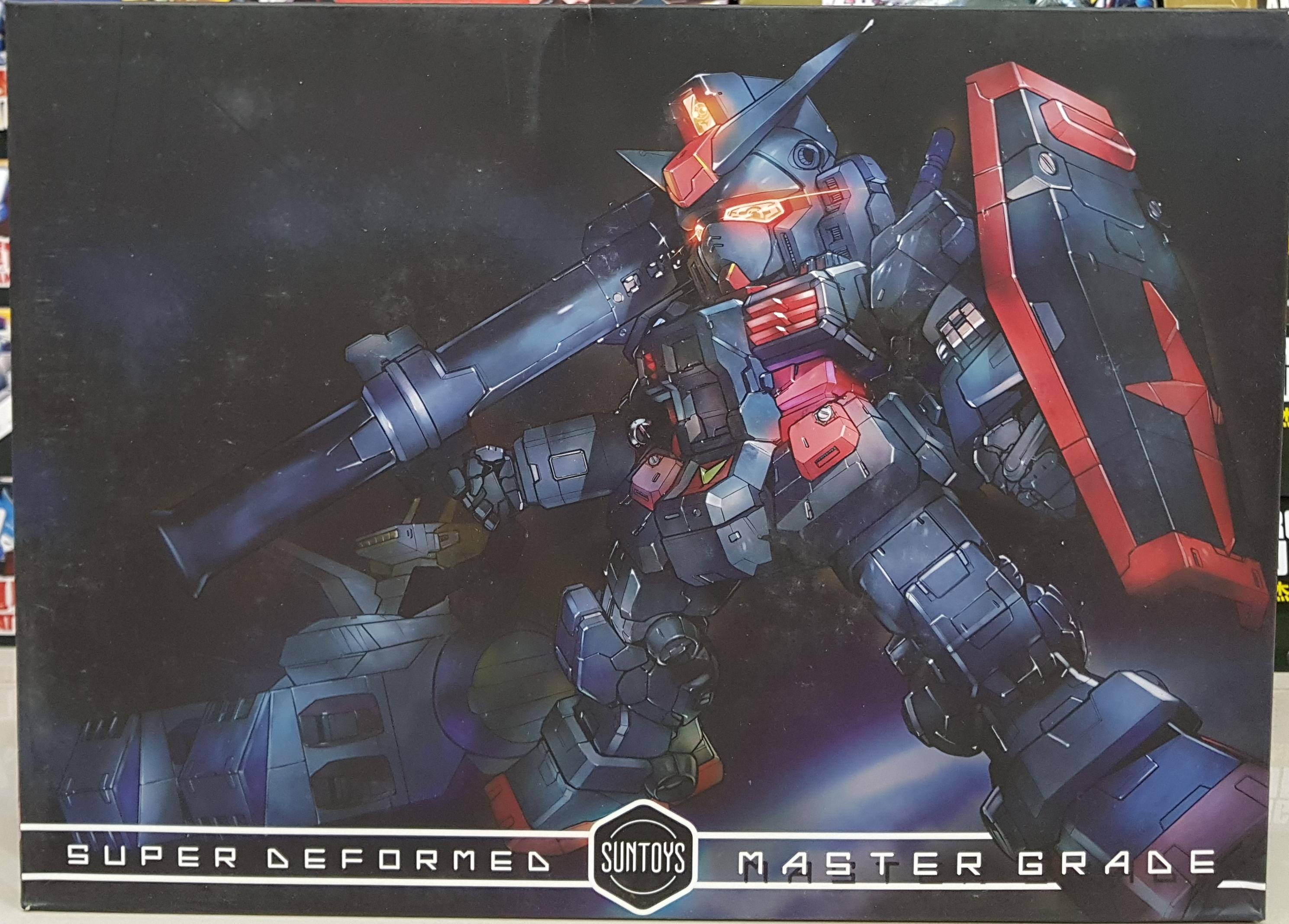 SD MG RX 78 MODEL KIT DARK BLACK GST002 [SunToys]
