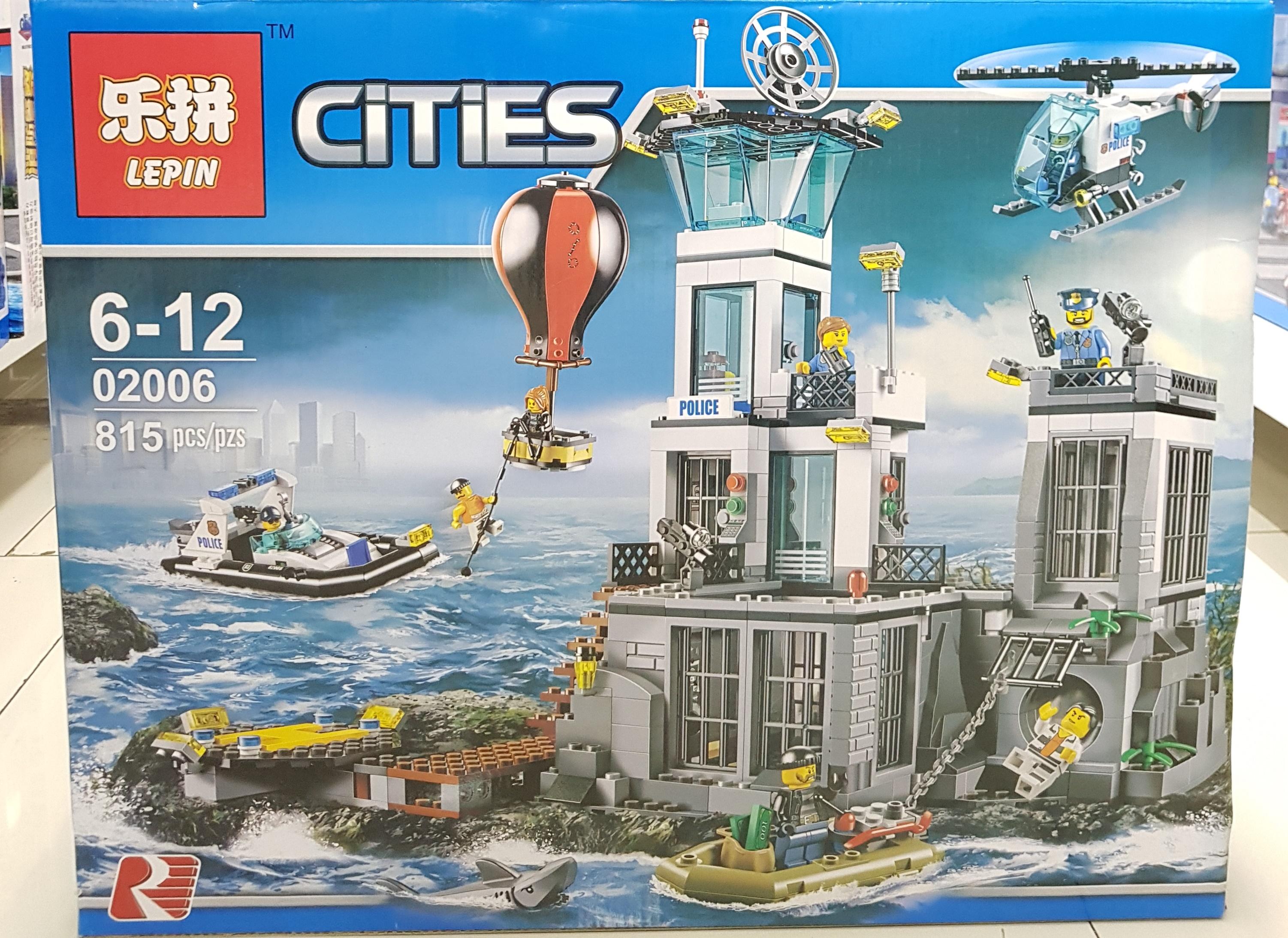 LEPIN CITIES 02006 (815ชิ้น)