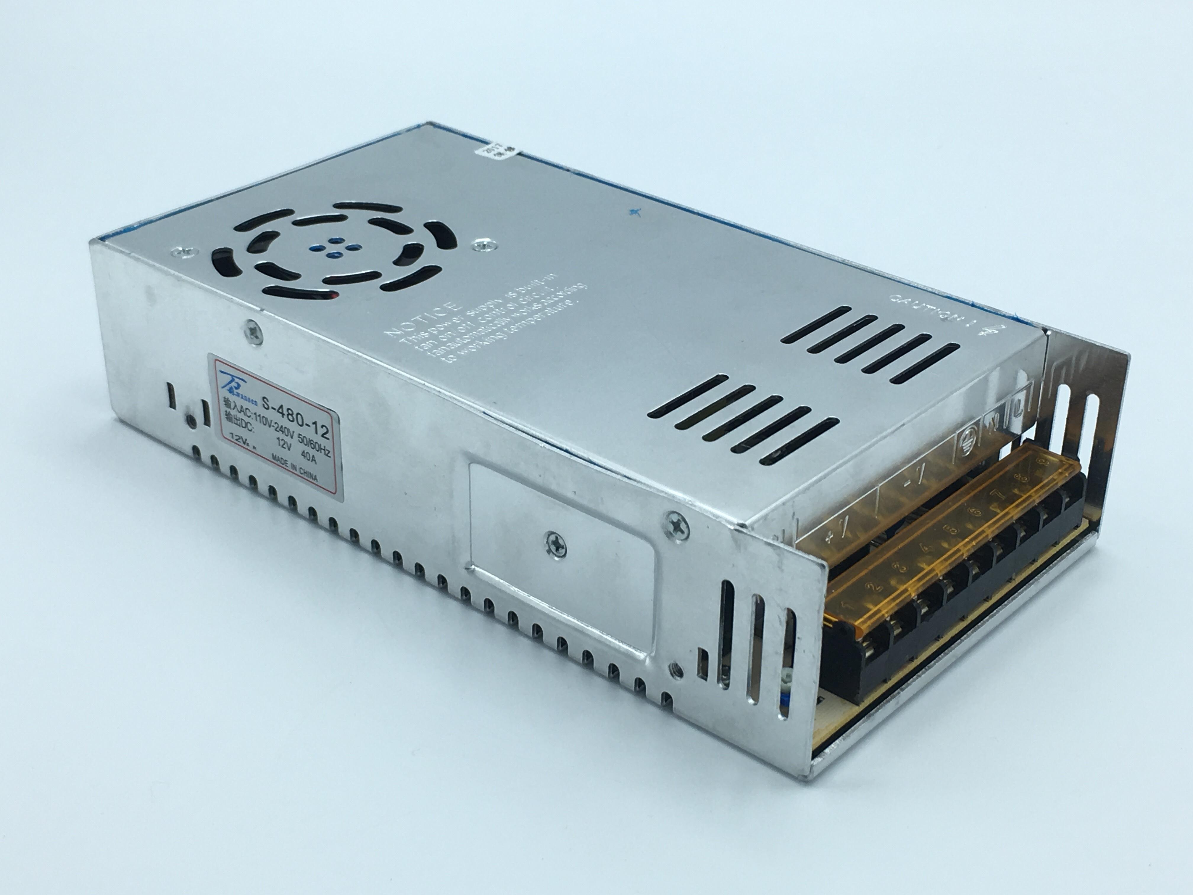 หม้อแปลงไฟฟ้า 220VAC 12VDC 40A