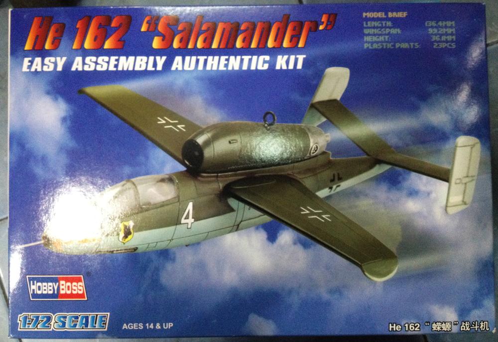 1/72 He 162 Salamander