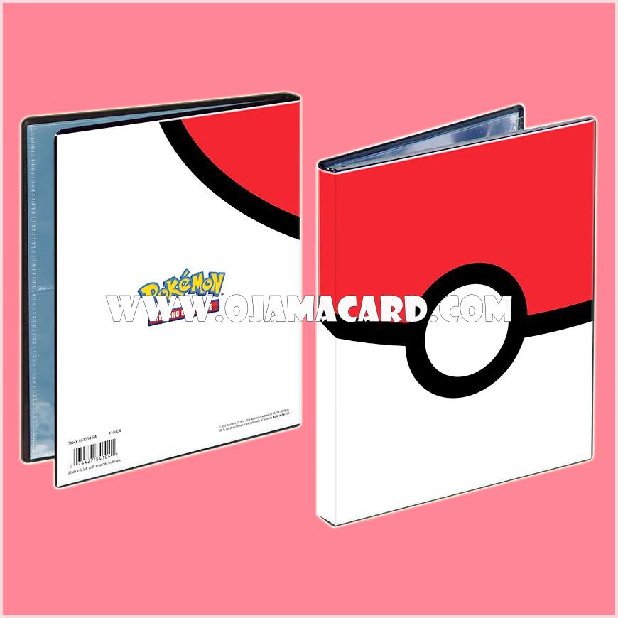 Ultra•Pro Pokémon Poké Ball 4-Pocket Portfolio