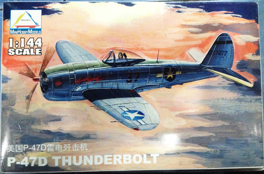 1/144 P-47D THUNDERBOLT