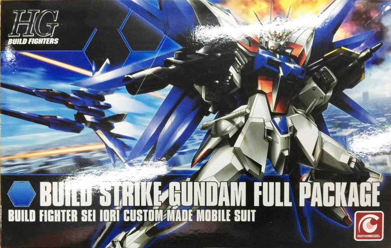HG 1/144 (001) Build Strike Gundam Full Package