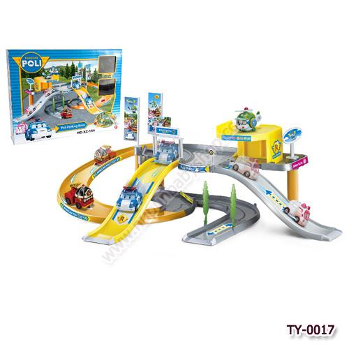 TY-0017 Poli Parking Base - PlaySet