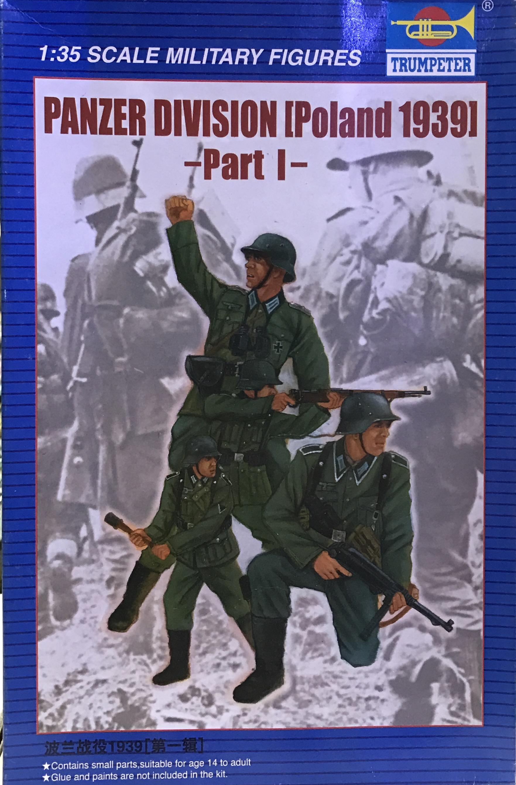 1/35 Panzer Divsion Poland 1939 Part I [Trumpeter]