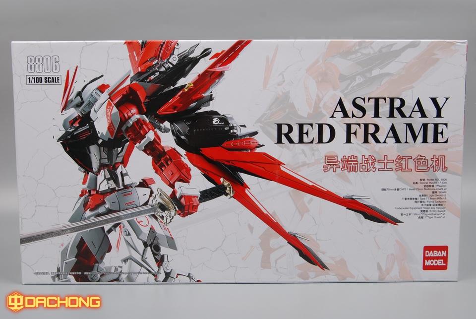 MG 1 / 100 (8806) Astray Red Frame [Daban]