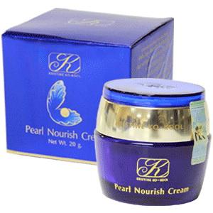 Kristine Ko-Kool Pearl Nourish Cream,คริสติน โคคูล เพิร์ล นอรีช ครีม,ครีมไข่มุกคังเซน
