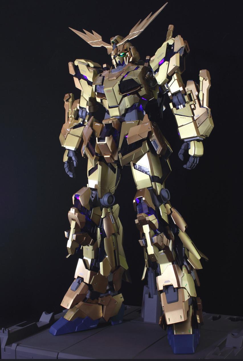 PG 1/60 Unicorn Gundam 03 Phenex + ชุดไฟ LED Unit for PG RX-0 Unicorn Gundam [Daban]