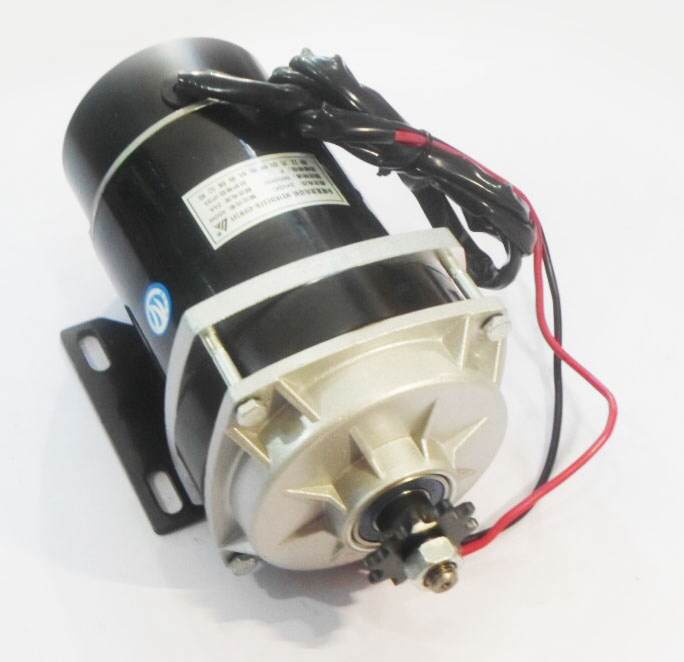 มอเตอร์ปั๊มชัก 24VDC 650W+เกียร์ทด