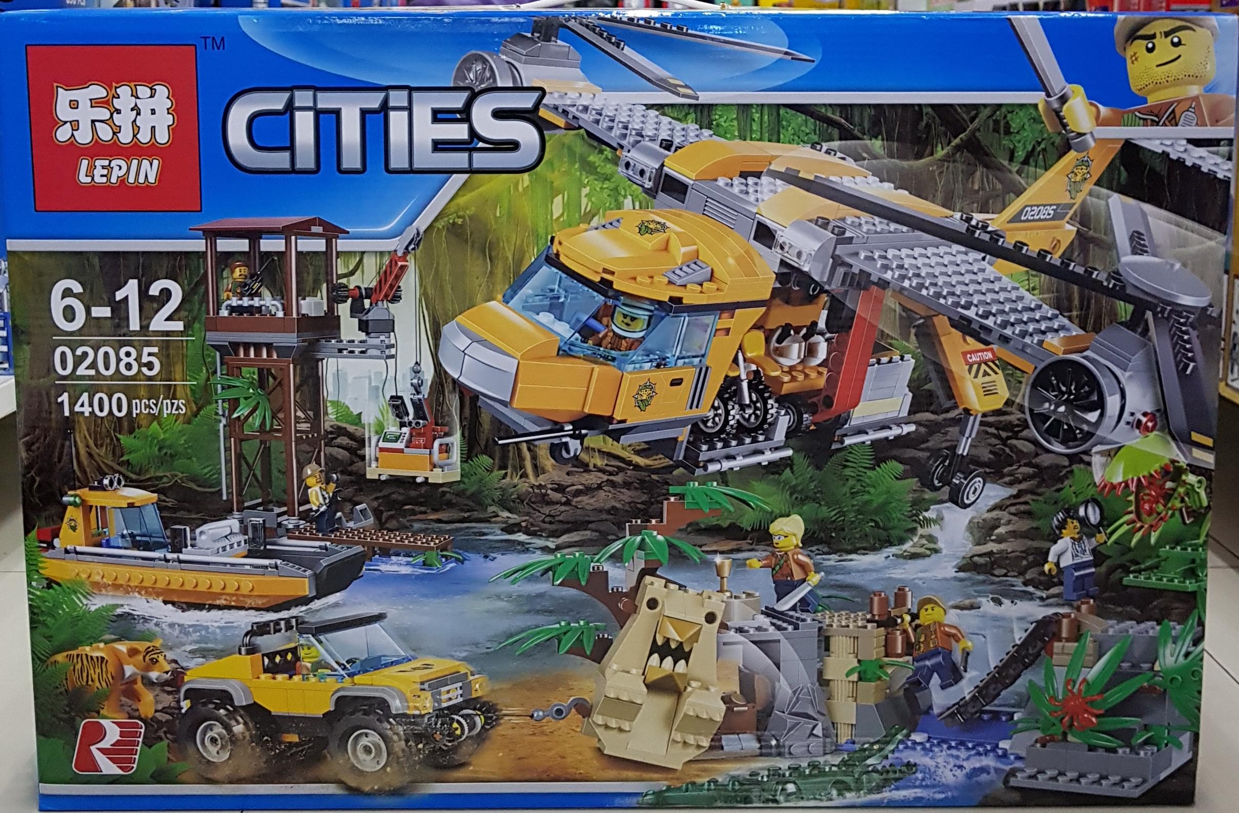 LEPIN CITIES 02085 [1400ชิ้น]