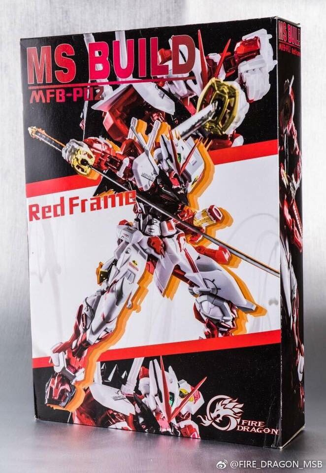MG 1/100 ASTRAY RED FRAME + Back Pack part [Fired Dragon]