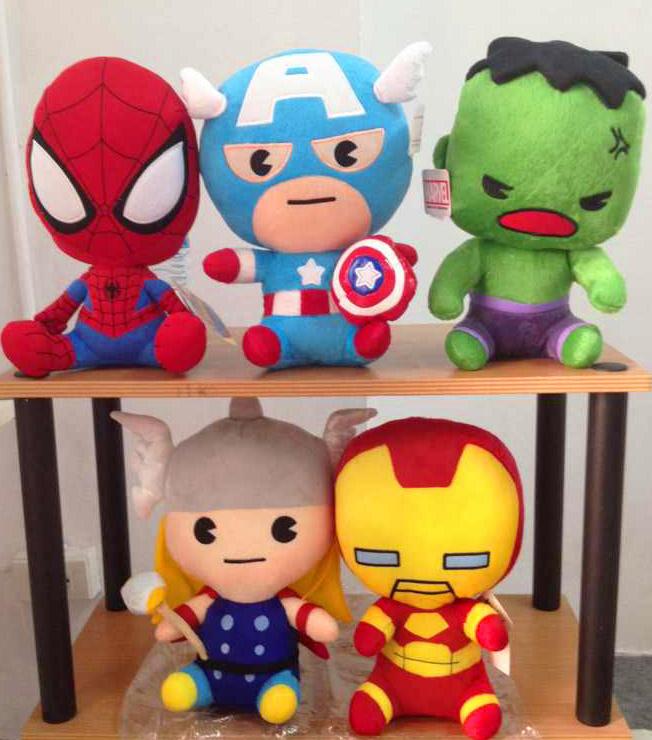ตุ๊กตา marvel : ครบset 5 ตัว
