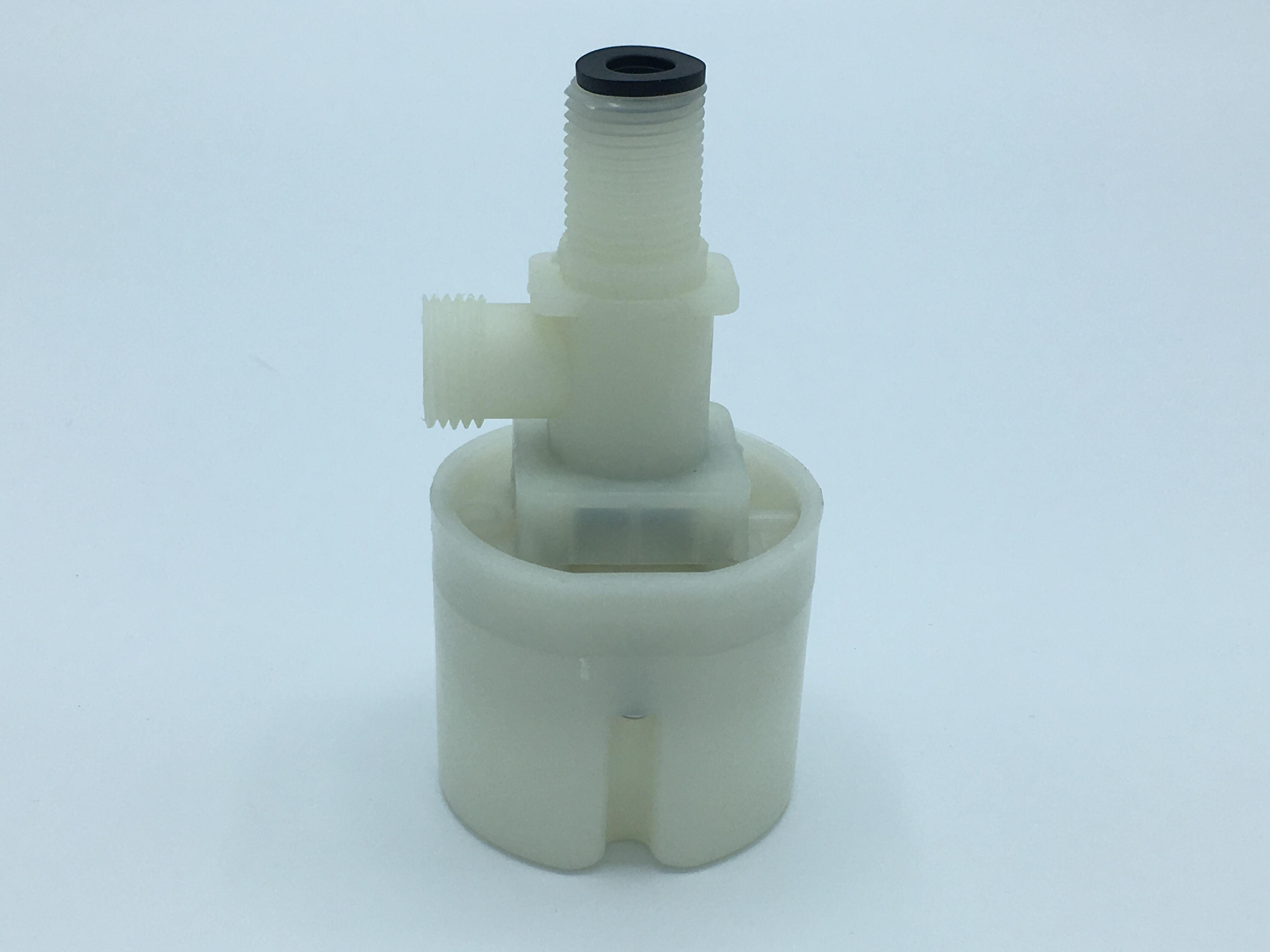 ลูกลอยอัตโนมัติ วาล์วควบคุมระดับน้ำอัตโนมัติ แบบงอ 90 เกลียวนอก 1/2 นิ้ว ( ยี่ห้อ JUNY )