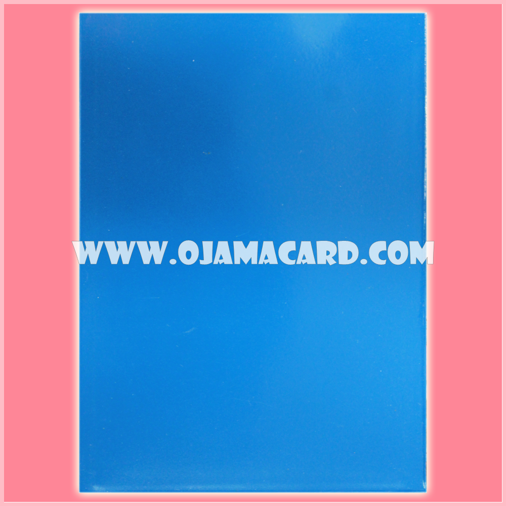 Standard Size Card Protector / Sleeve - Transparent / Blue Matte [Used] x2